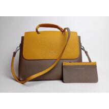 CAMPO MARZIO Olasz táska kis pénztárcával gyönyörű színben
