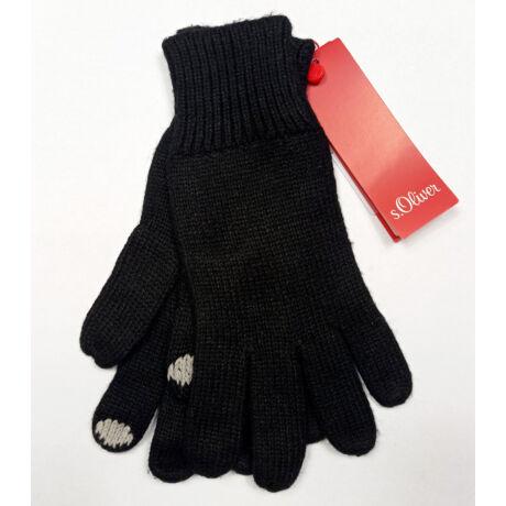 S:OLIVER kötött kesztyű ujján hímzéssel eredeti ára 23Euro!