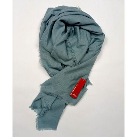 S.OLIVER gyönyörű türkiz kék nagy sál eredeti ára 26 euro!